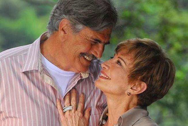 tarcisio meira e gloria - Glória recebe notícia da morte marido Tarcísio Meira: 'Muita tristeza'