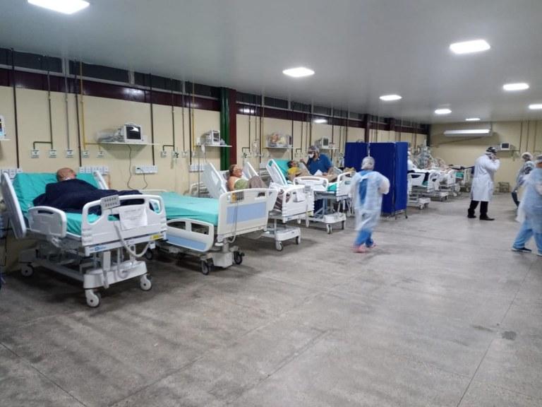 trauma joao pessoa - Programa Fora do Leito reforça tratamento da Covid-19 no Hospital de Trauma de João Pessoa