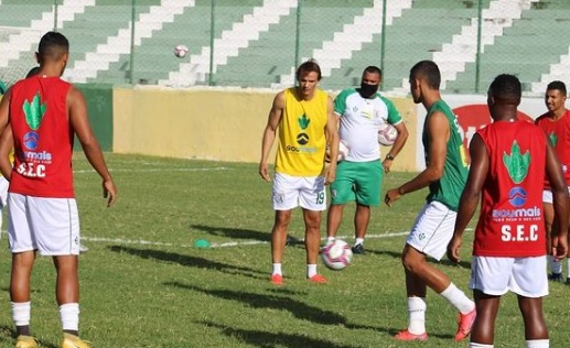 treino sousa - Sousa tem todo elenco disponível para enfrentar o Campinense