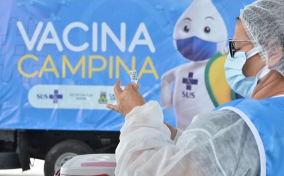 vac - Campina Grande vacina público a partir de 31 anos de idade contra Covid-19 nesta terça-feira (3)