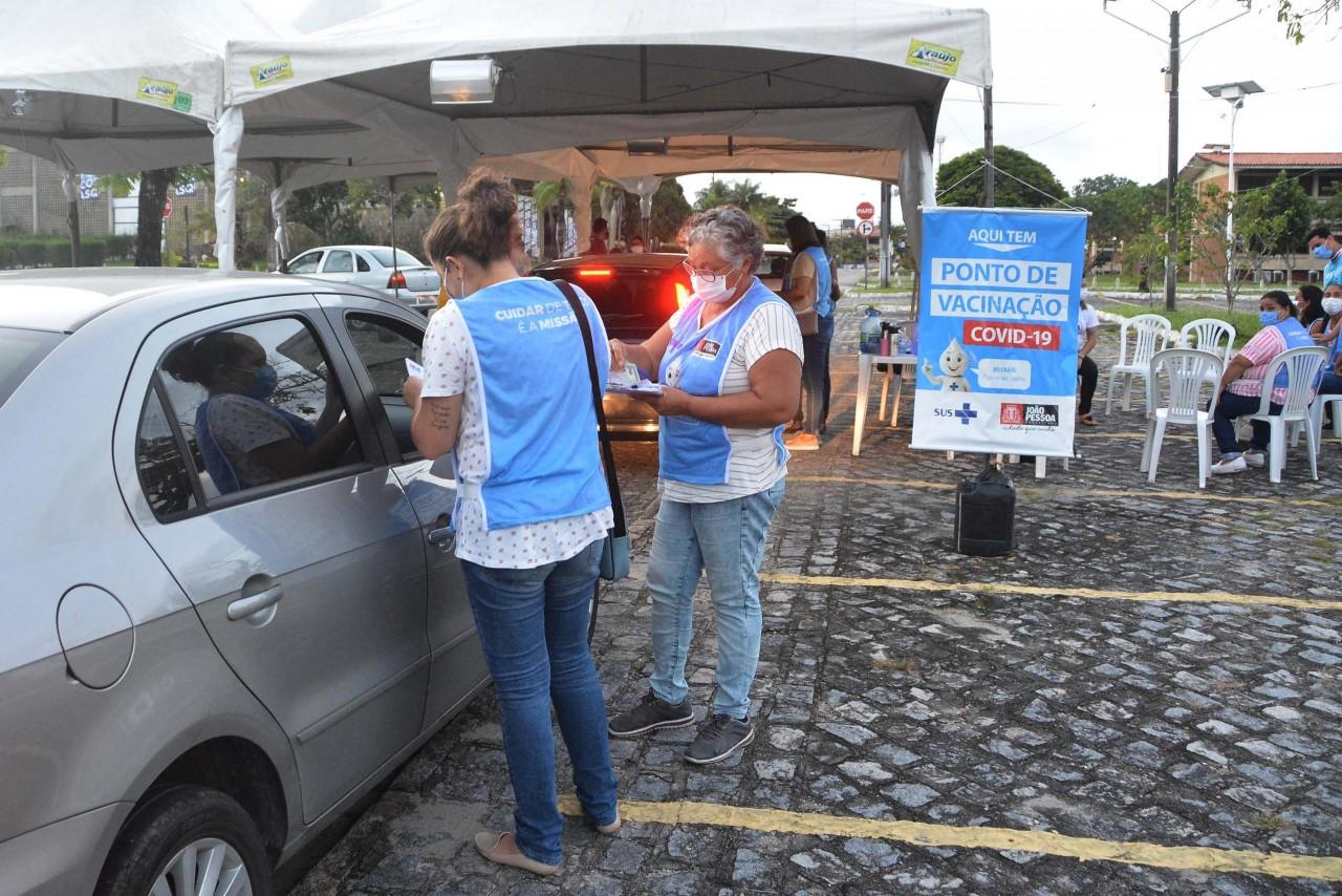 vacina 4 - Prefeitura de João Pessoa retoma vacinação da 2ª dose nesta segunda-feira