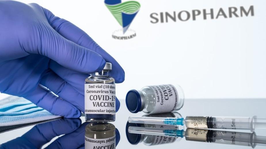 vacina chinesa contra a covid da sinopharm rep - COVID-19: vacina da Sinopharm está em análise pela Anvisa