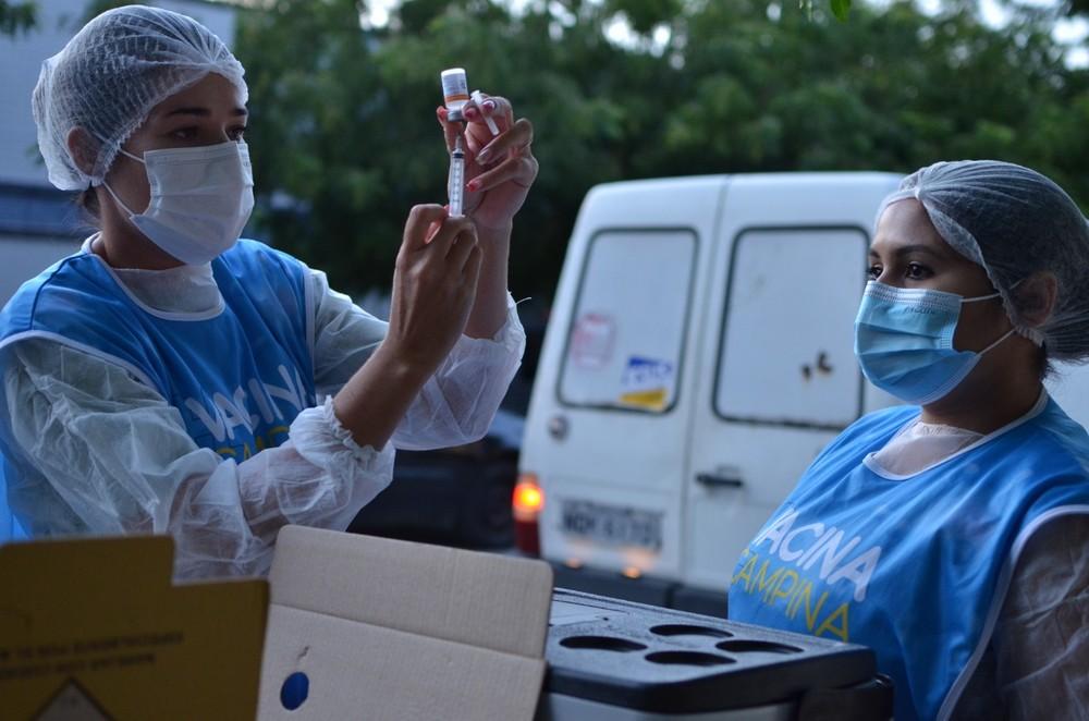 vacinacao saude - Campina Grande aplica apenas segunda dose da Pfizer, nesta quinta-feira (19)
