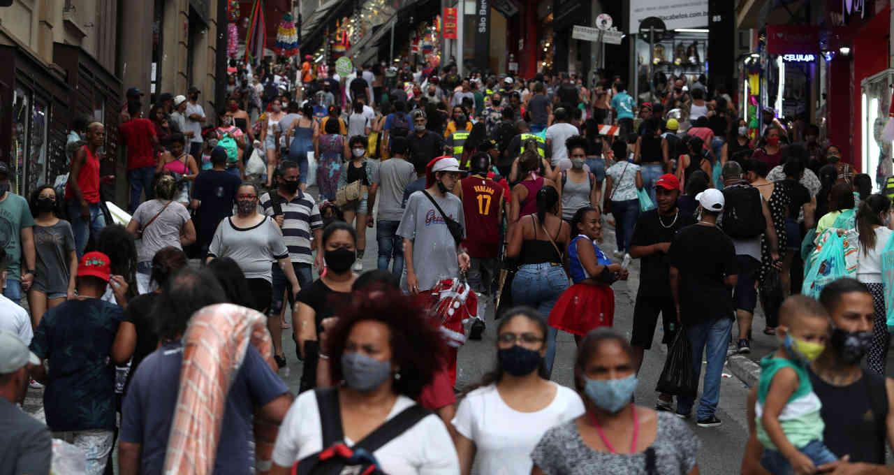 varejo consumo - População brasileira chega a 213,3 milhões de pessoas em 2021, diz IBGE