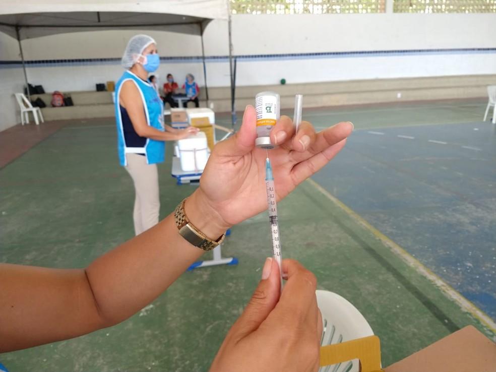 whatsapp image 2021 03 11 at 08.32.18 - Prefeitura de João Pessoa segue com aplicação da segunda dose da vacina contra Covid-19