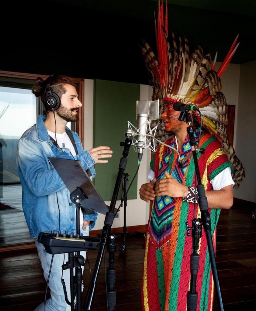 whatsapp image 2021 06 28 at 11.59.57 - CULTURA INDÍGENA: Alok vai lançar primeiro álbum autoral com influência e participação de representantes indígenas