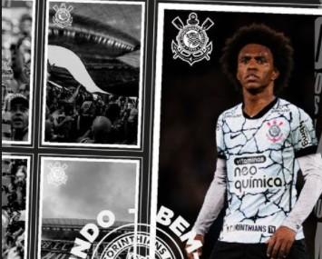 willian CO - Arsenal anuncia saída de Willian e fala sobre volta do craque ao timão: 'Boa sorte no Corinthians'