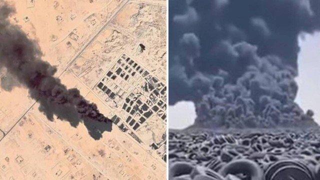 xblog kuwait 2.jpg.pagespeed.ic .qWfbw0CyEP - Fumaça no maior 'cemitério' de pneus do mundo é vista do espaço - VEJA VÍDEO