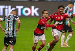 Flamengo goleia Grêmio por 4 a 0 na Copa do Brasil