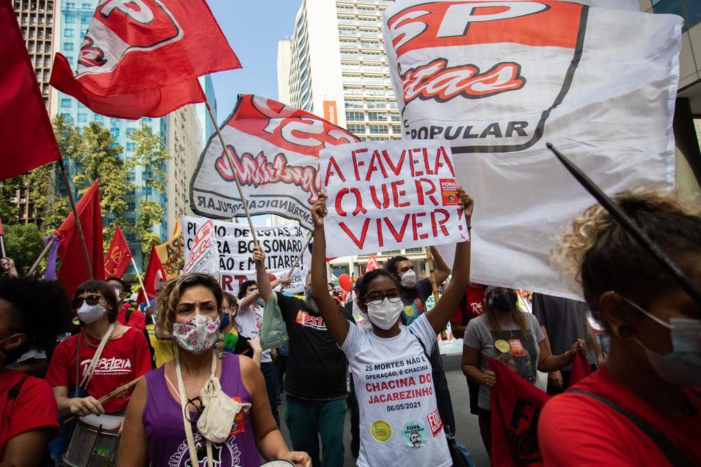 000 9me2wg - PROTESTOS PELO BRASIL: Veja imagens de atos contra Bolsonaro no 7 de Setembro