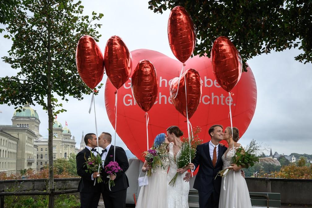 000 9nk2xw - Em referendo, Suíça aprova casamento para pessoas do mesmo sexo