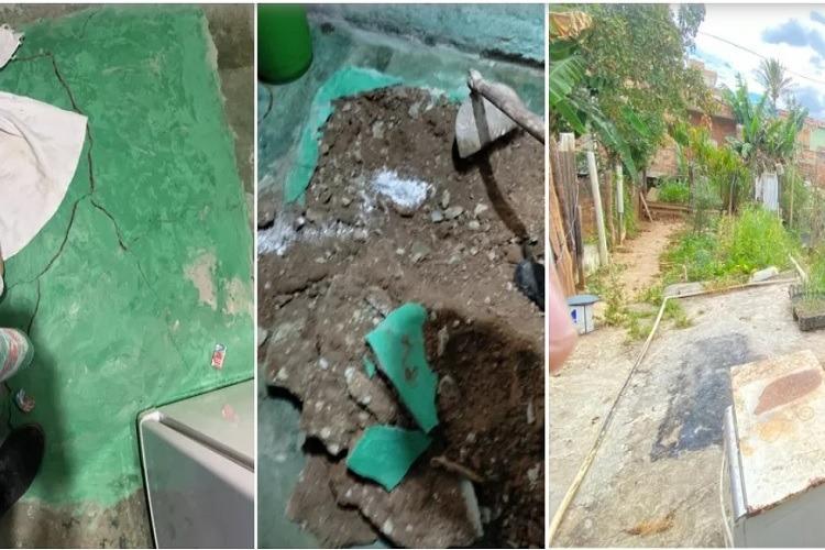 02091040 crime estr - CRIME MACABRO E BRUTAL: idosa é suspeita de esquartejar e concretar corpo do marido na parede de casa