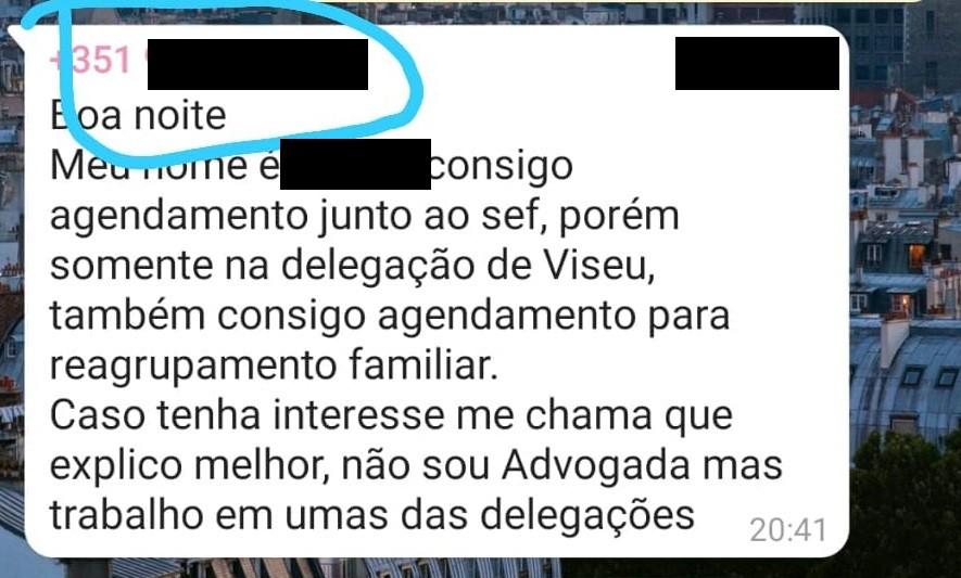 1 - Brasileira finge trabalhar no governo de Portugal para vender vagas no serviço de imigração
