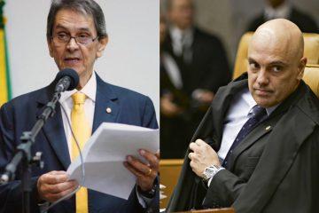 """Roberto Jefferson ataca Alexandre de Moraes em carta: """"Ser abominável"""""""