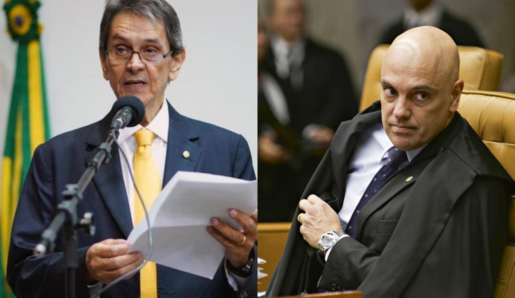 """1632652496387453 - Roberto Jefferson ataca Alexandre de Moraes em carta: """"Ser abominável"""""""