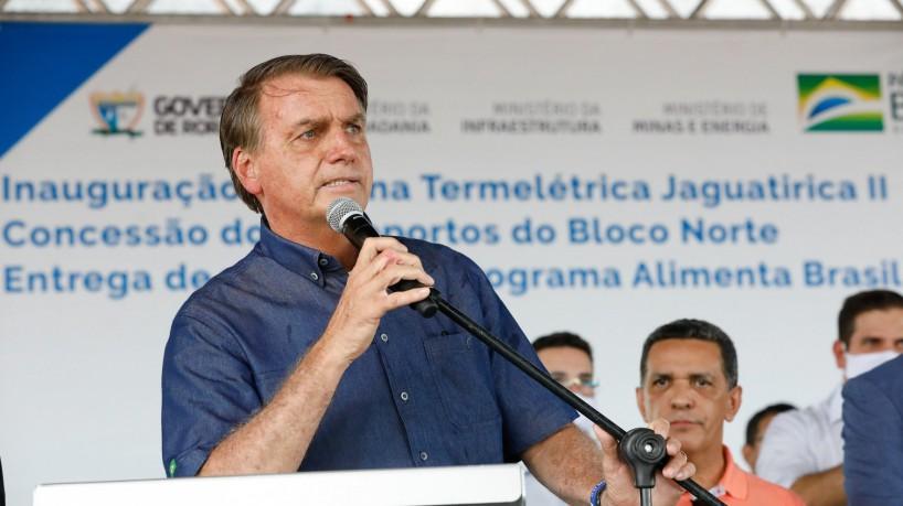 1 51535822551 12978994aa k 17169188 - Mulher critica Bolsonaro em MG e é vaiada por apoiadores do presidente em agenda dos 'mil dias'; VEJA VÍDEO