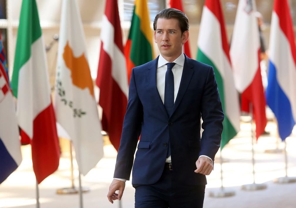 """2018 06 29t105734z 903778203 rc15d6741250 rtrmadp 3 eu summit - REFUGIADOS: Chanceler da Áustria diz que país """"não vai acolher nenhum afegão"""" enquanto ele estiver no poder"""