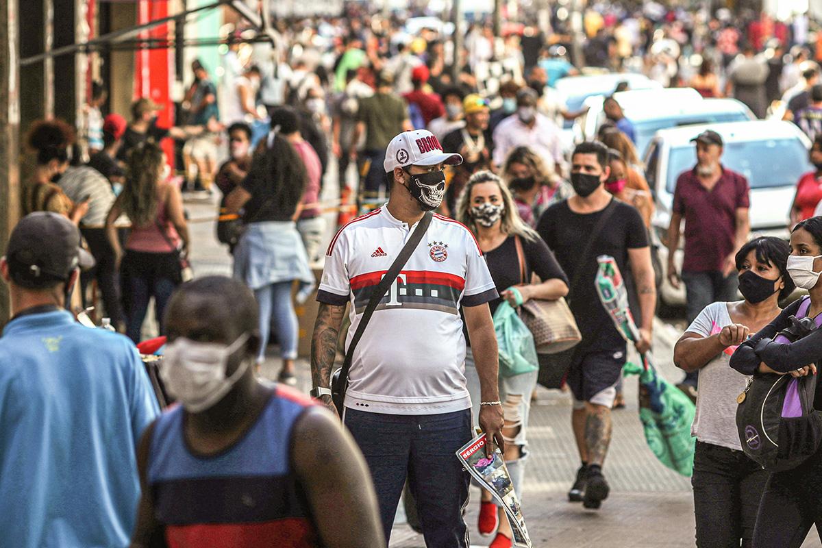 2020 06 11T000000Z 1350934155 RC267H9HVASN RTRMADP 3 HEALTH CORONAVIRUS BRAZIL 1 - VARIANTE DELTA: Em uma semana, número de casos no Brasil cresce mais de 80%