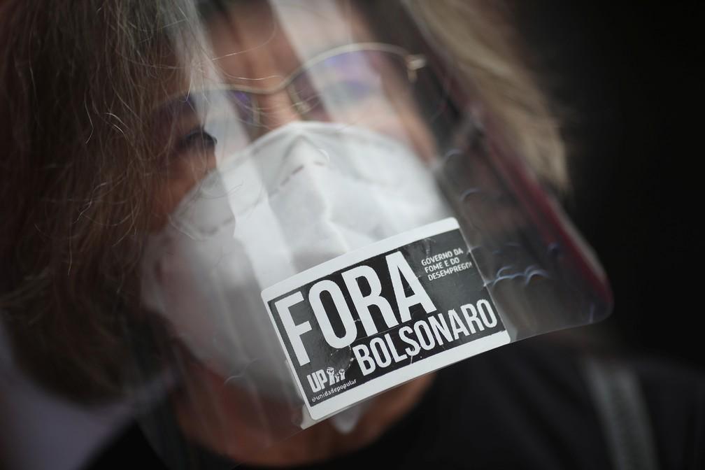 2021 09 07t125312z 1052767963 rc20lp9elqi1 rtrmadp 3 brazil politics protests b - PROTESTOS PELO BRASIL: Veja imagens de atos contra Bolsonaro no 7 de Setembro