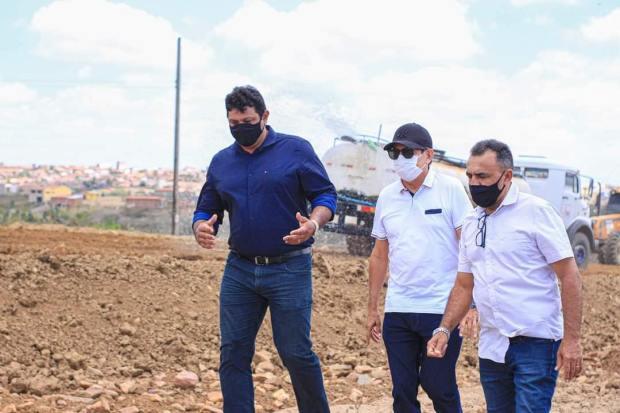 238592401 367756811673837 2723352180279526270 n - Deputado Tião Gomes visita obras ao lado dos prefeitos de Serraria, Arara e Bananeiras
