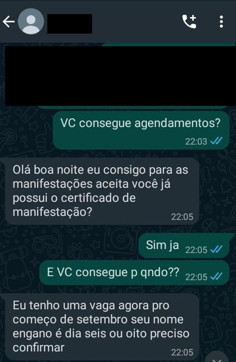 3 - Brasileira finge trabalhar no governo de Portugal para vender vagas no serviço de imigração