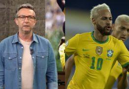 """A BRIGA CONTINUA! Após Neymar criticar à imprensa, Neto volta a detonar o jogador: """"Você se vitimiza toda hora"""""""