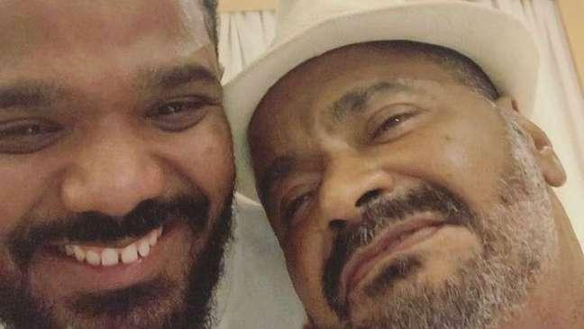 """731592823 arlindinhoearlindo - Filho de Arlindo Cruz desabafa sobre vício do pai em drogas: """"Meu pai só fez mal para ele"""""""