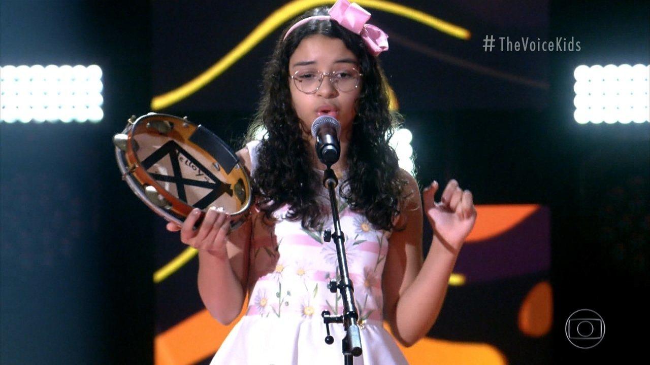 9678162 x720 - Paraibana Helloysa do Pandeiro passa de fase no The Voice Kids deste domingo