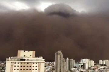 9CB8DED0 3EC8 41F3 9DDD 3DA23AD9B3D5 360x240 - DIA VIROU NOITE: grande tempestade de areia assusta moradores de cidades de São Paulo - VEJA VÍDEOS