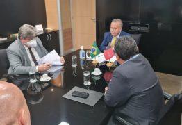 João Azevêdo reivindica adutora que levará água para o Brejo ao ministro do Desenvolvimento Regional