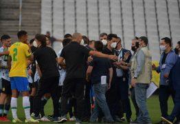 Conmebol decide suspender o jogo entre Brasil e Argentina