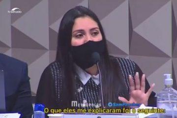 ADVOGADA 360x240 - BOMBA! Durante CPI da Covid advogada de médicos da Prevent Senior diz que Ministério da Economia tinha interesse em experimentos com 'cobaias humanas' VEJA VÍDEO