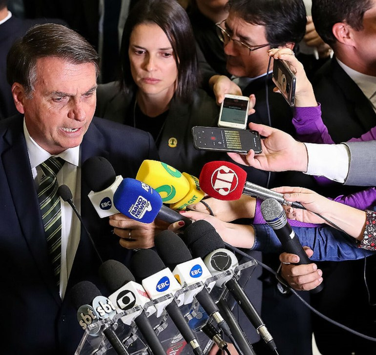 Bolsonaro2 - Estudo aponta meio milhão de tuítes ofensivos à imprensa em três meses no Brasil