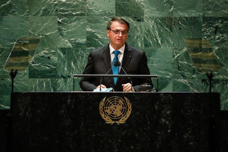 "Bolsonaro ONU - Bolsonaro protagoniza ""vexame internacional"" no plenário da ONU"