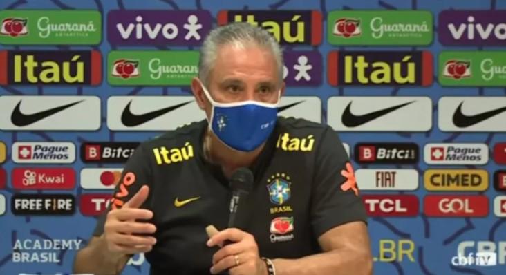 """Captura de tela 2021 09 09 071729 - Tite confirma Seleção e vê """"decisão justa"""" em jogo suspenso"""