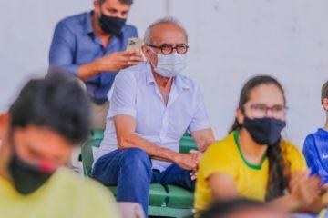 Cícero Lucena assiste amistoso Brasil x Argentina e ressalta apoio para atrair eventos a João Pessoa