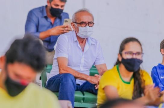 Captura de tela 2021 09 20 214027 - Cícero Lucena assiste amistoso Brasil x Argentina e ressalta apoio para atrair eventos a João Pessoa