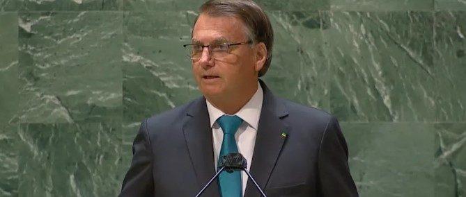 Captura de tela 2021 09 21 111441 e1632233918618 - Em discurso na ONU, Bolsonaro defende tratamento precoce contra a Covid, diz que salvou Brasil do socialismo e critica governadores que decretaram lockdown