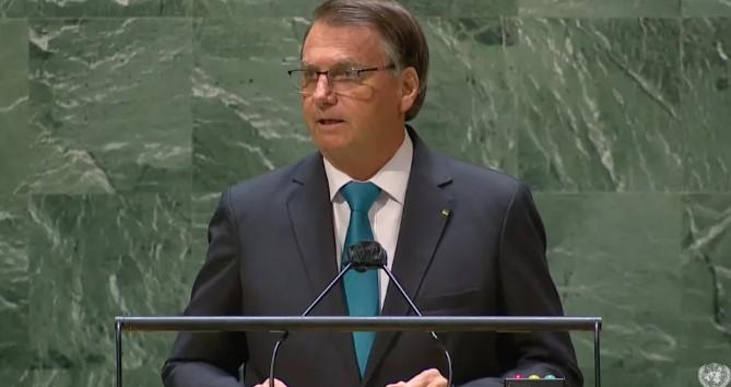 Captura de tela 2021 09 21 111441 - Em discurso na ONU, Bolsonaro defende tratamento precoce contra a Covid, diz que salvou Brasil do socialismo e critica governadores que decretaram lockdown