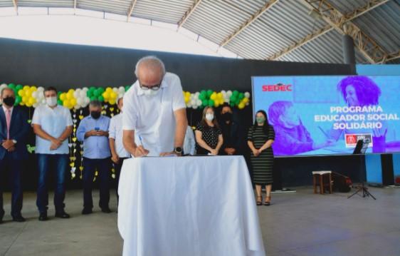 Captura de tela 2021 09 21 122704 - No Dia Nacional de Luta da Pessoa com Deficiência, Cícero Lucena lança Programa Educador Social Voluntário
