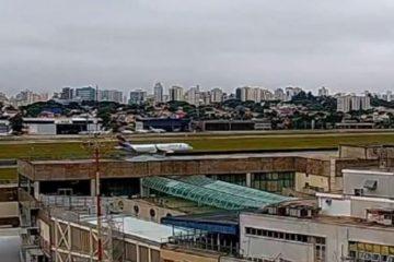 Capturar 60 360x240 - Avião solta chamas após colisão com pássaro durante decolagem em São Paulo