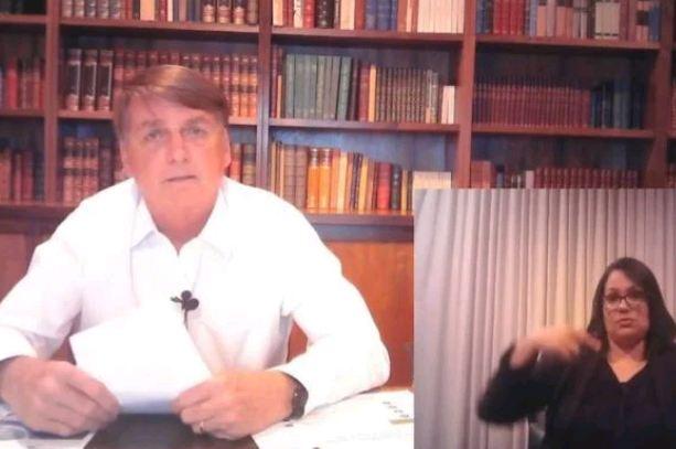 Capturar 66 - Bolsonaro diz que voltará a falar com imprensa, mas para Globo só ao vivo; VEJA VÍDEO