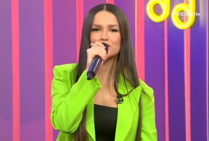 Capturar.JPGSSS - Juliette usa autotune em programa ao vivo no Multishow: 'É muito massa' - VEJA VÍDEO