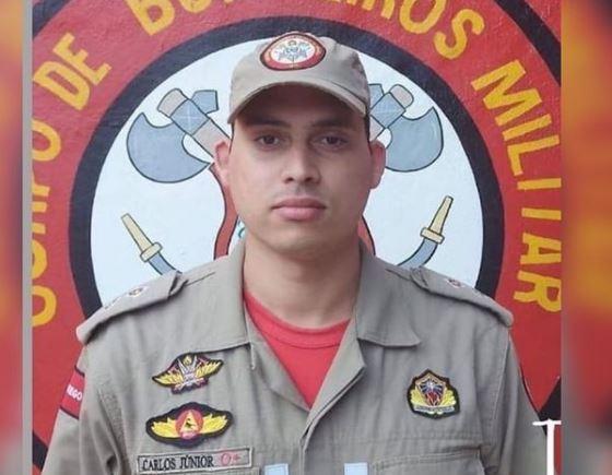 Capturar.JPGddd 1 - Tenente do Corpo de Bombeiros, José Carlos da Silva Júnior, morre por complicações da Covid-19