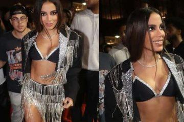 Anitta se surpreende com a própria aparência após deixar festa de Rihanna – VEJA VÍDEO