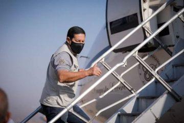 SUPERCOMITIVA: Em viagem que durará 12 dias, Mourão visita Egito, Dubai e Grécia