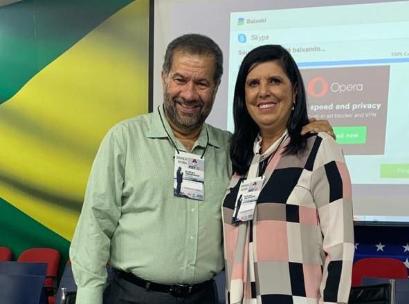 Carlos Lupi e Ligia Feliciano 1 - Lígia articula aliança para viabilizar candidatura ao governo em 2022, diz Carlos Lupi