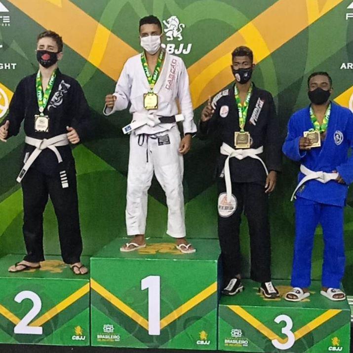 Conde - Com apoio da prefeitura, atleta condense é campeão brasileiro de Jiu-Jitsu