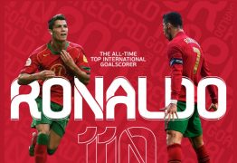 Cristiano Ronaldo faz 111º gol por Portugal e se torna o maior artilheiro de seleções