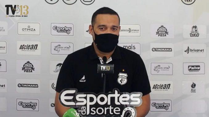 Fernando Gaucho Treze Reproducao TV13 678x381 1 - Diretor de futebol do Treze confirma permanência de Fajardo e já pensa no título estadual